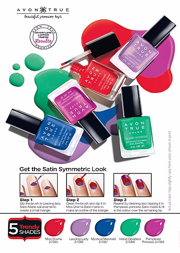 Avon True launches Two New Nail Polish Finishes – Mehakkk J